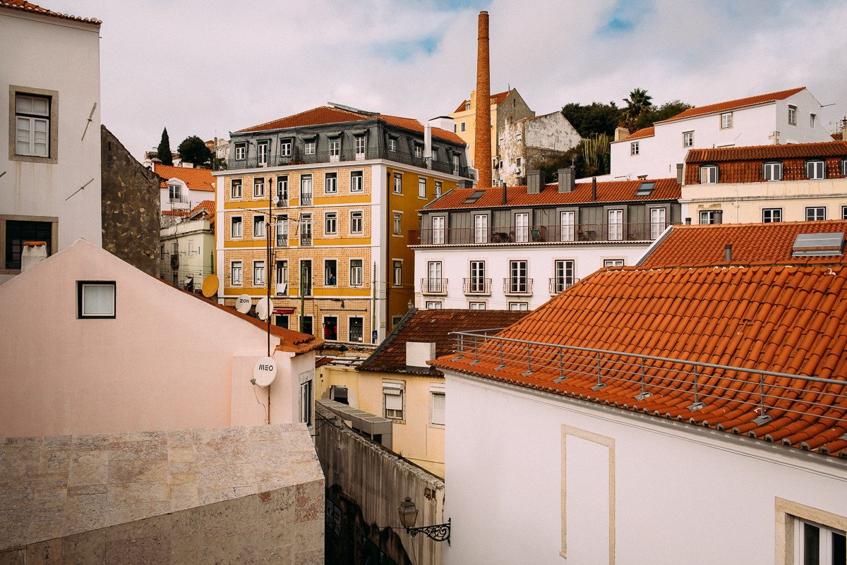 Jola & Krzyś- sesja w Lizbonie