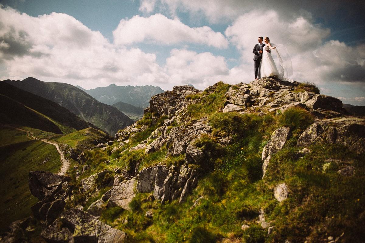 Kasia & Dawid- sesja w Tatrach
