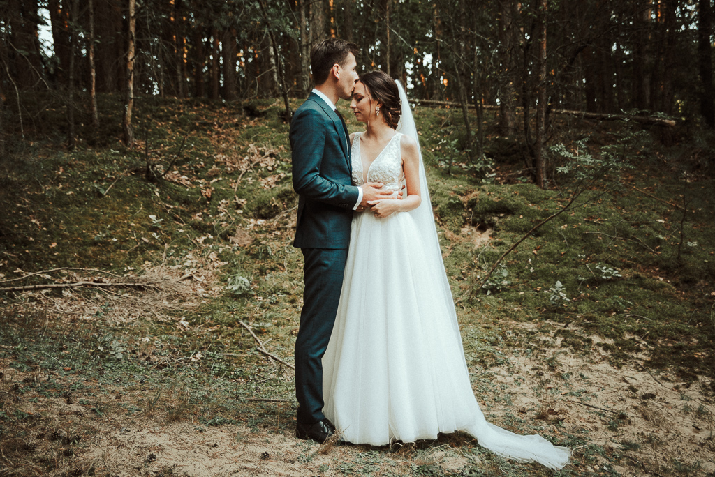 Moja ulubiona leśna sesja ślubna