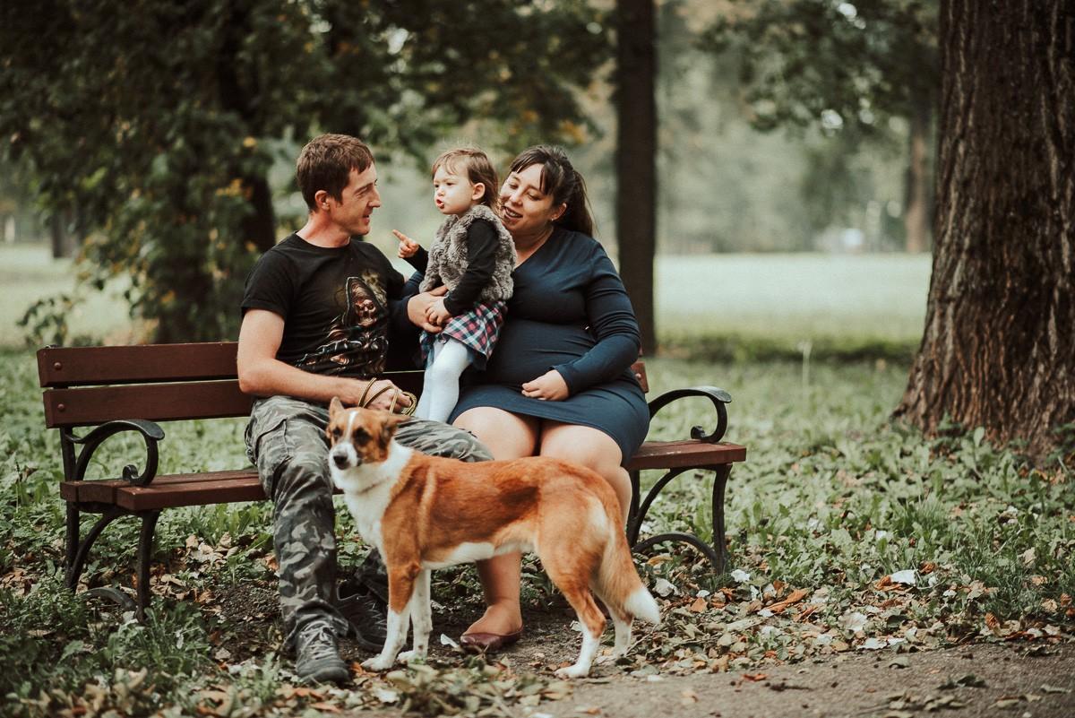 Sesja Rodzinna- Czekając na Alicję